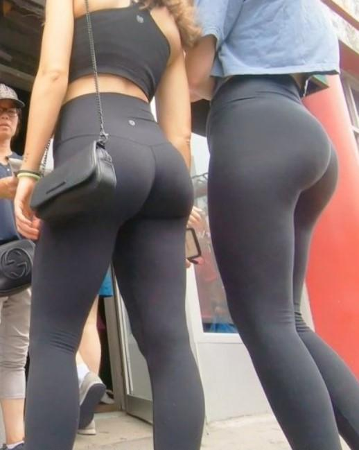 Candid Teen Black Leggings